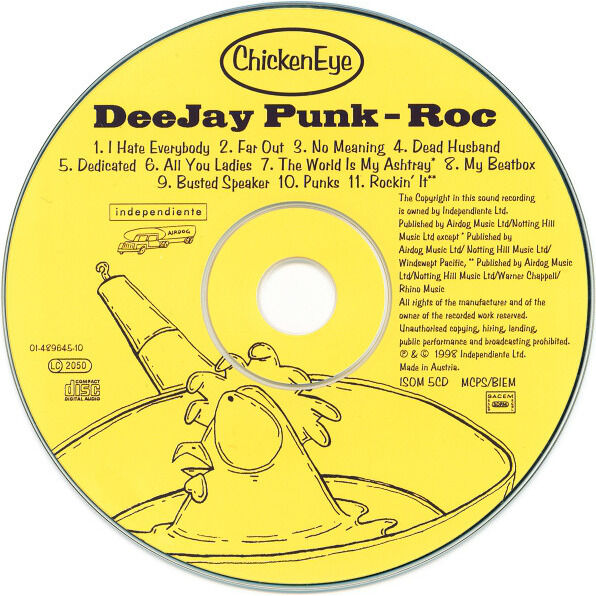 Deejay Punk-Roc Chicken Eye