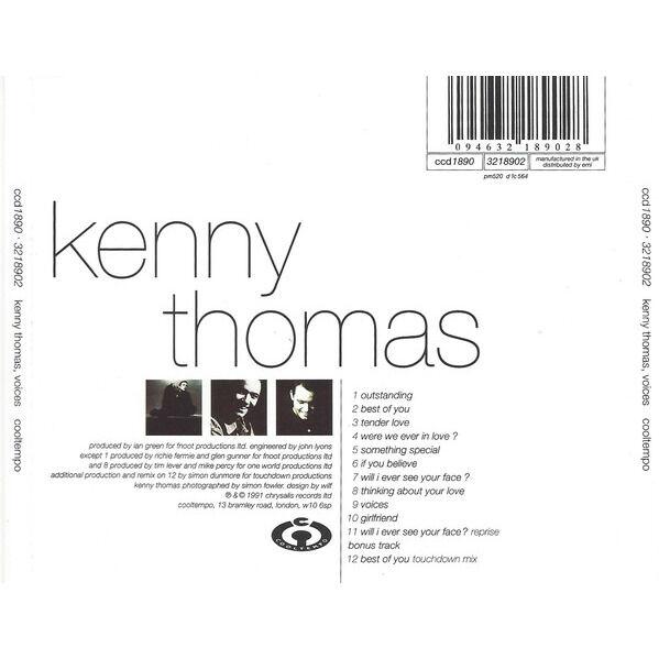 Kenny Thomas Voices