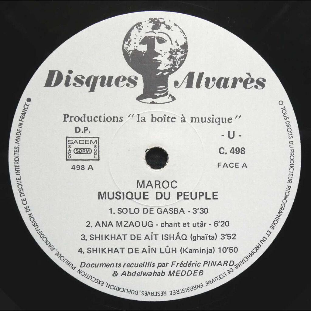Various Maroc - Musique Du Peuple