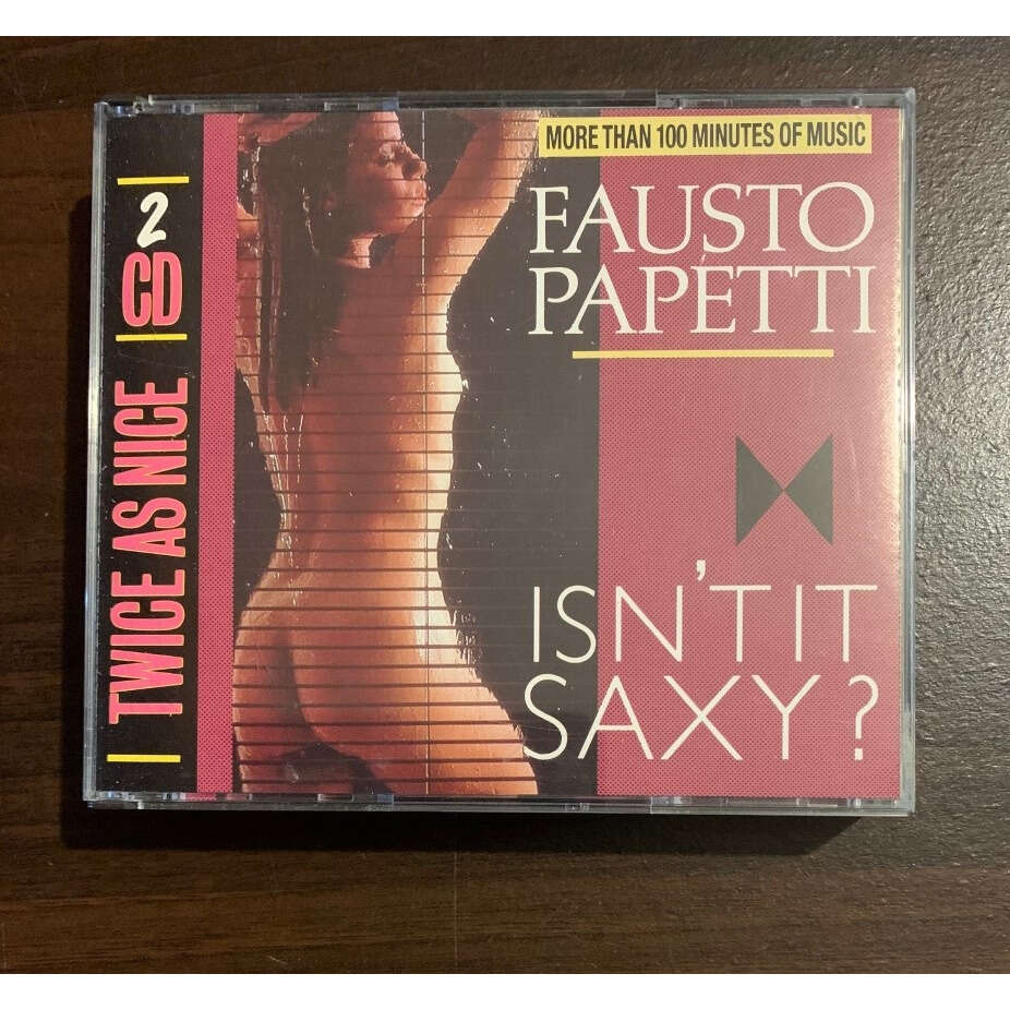 Fausto Papetti Isn't It Saxy?
