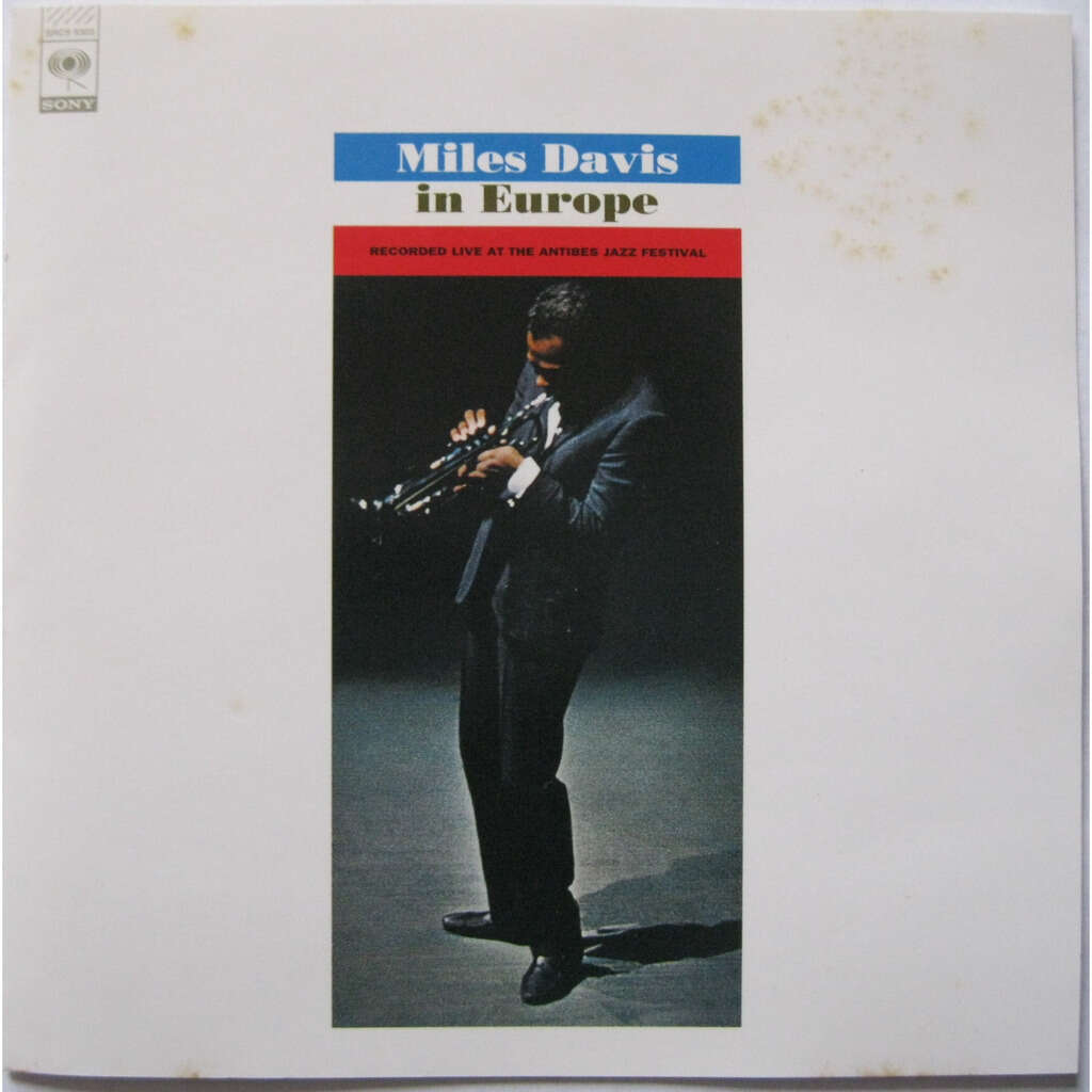 MILES DAVIS Miles Davis in Europe ( limited edition - mono remast. - Japan!!! )