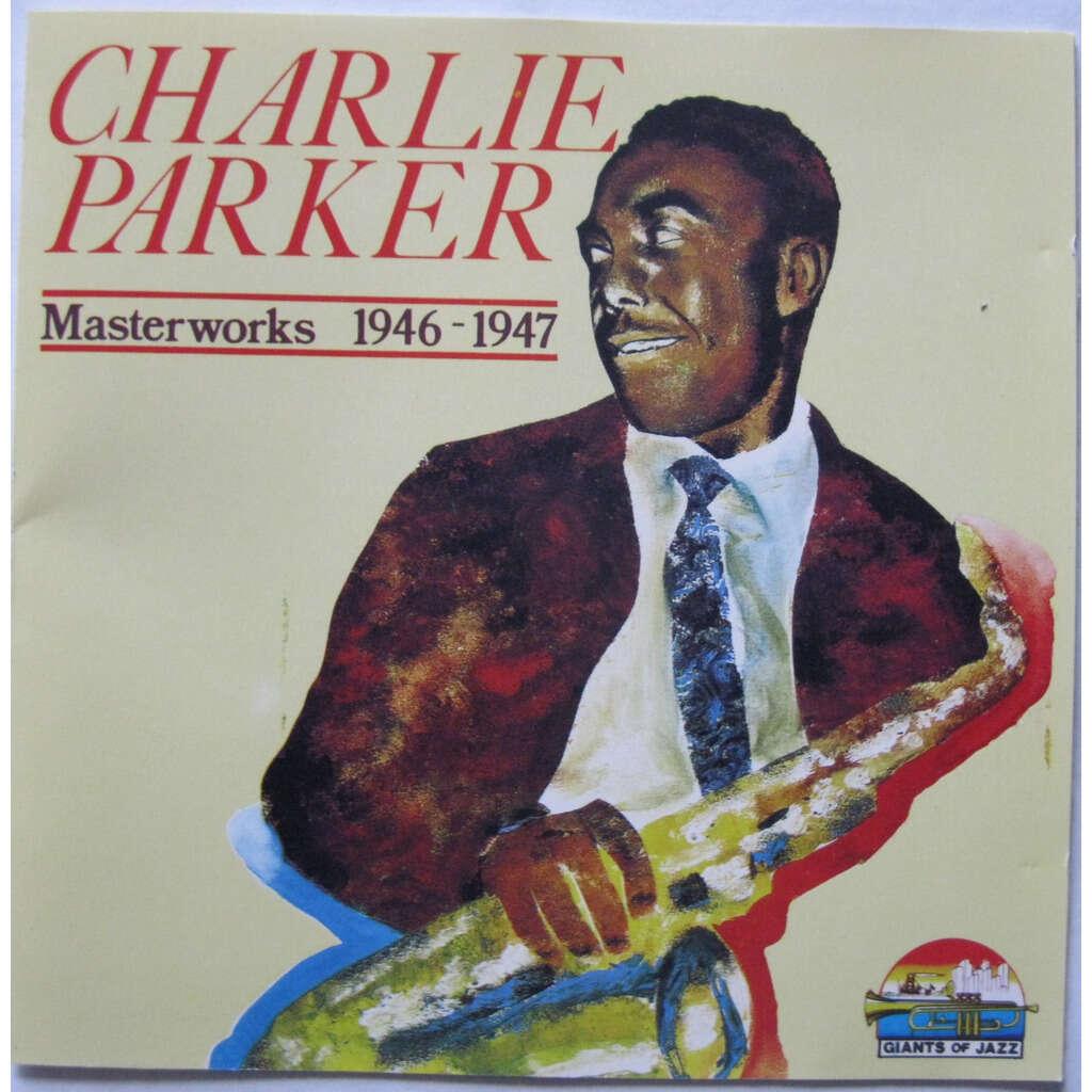 CHARLIE PARKER Masterworks 1946-1947 ( very rare french press )