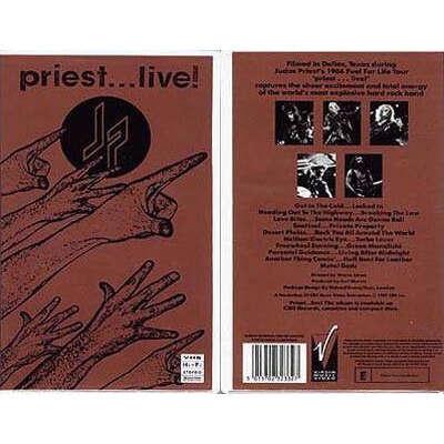 Judas Priest Priest... Live!
