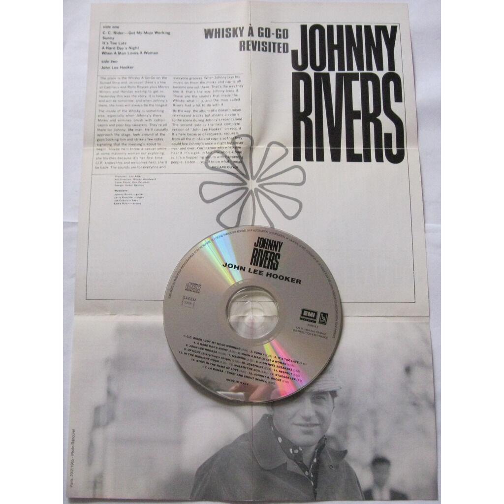 JOHNNY RIVERS John Lee Hooker ( & more live at the whiskey-a-go-go )