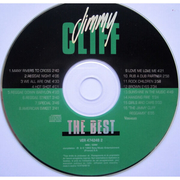 JIMMY CLIFF THE BEST