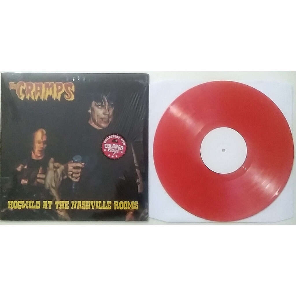 THE CRAMPS Hogwild at the nashville rooms ( LTD. RED VINYL) in shrink and unplayed!