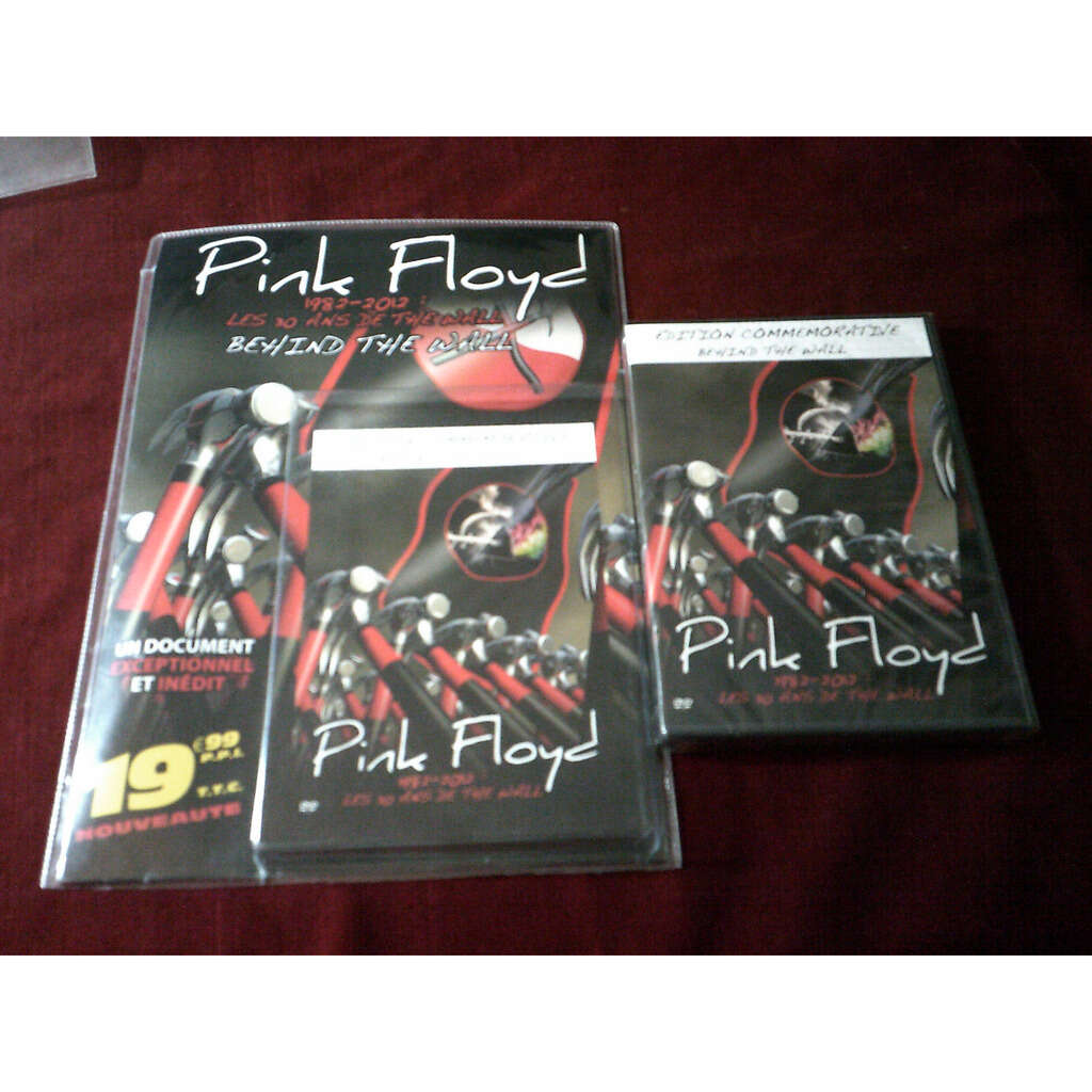 PINK FLOYD BEHIND THE WALL(Édition commémorative)-Limited-DVD-Original-2011-France.