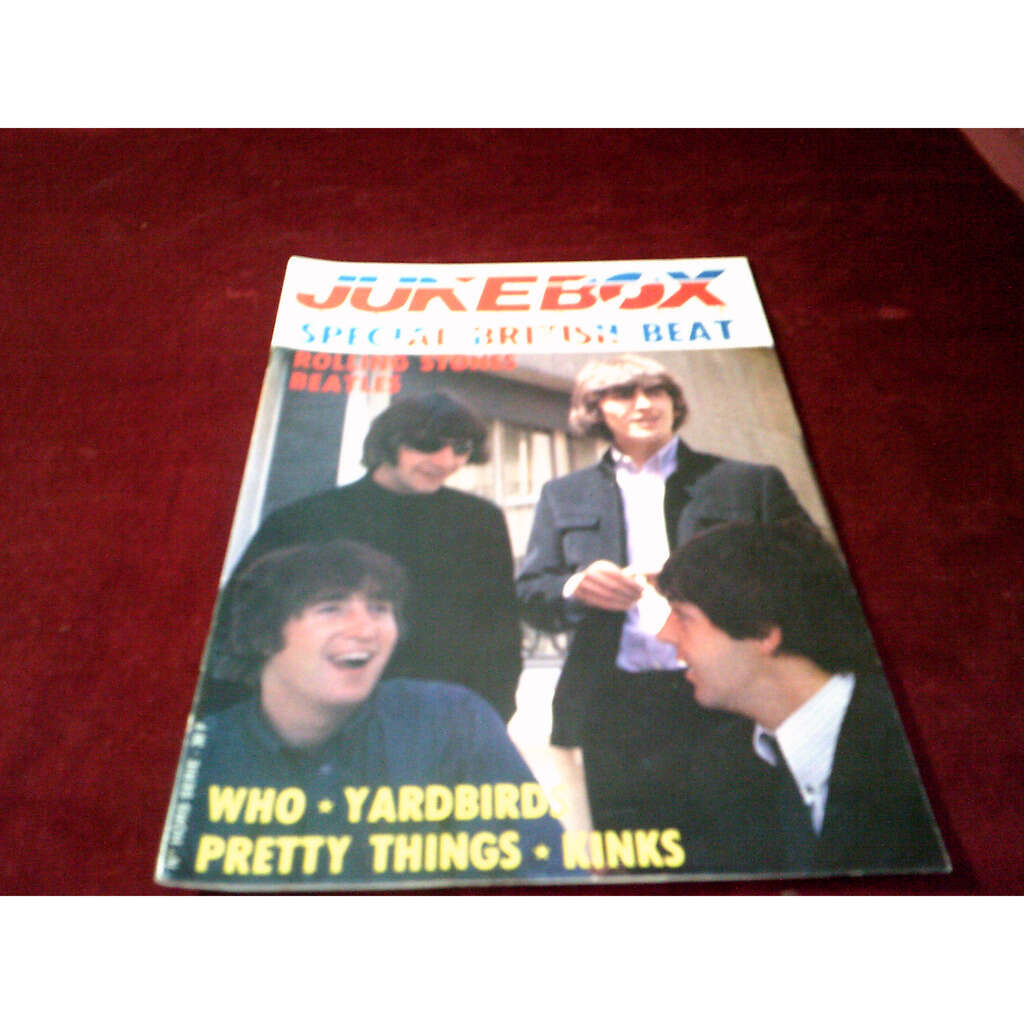 the beatles JUKEBOX MAGAZINE SPECIAL BRITISH BEAT - 4EME TRIMESTRE 1990