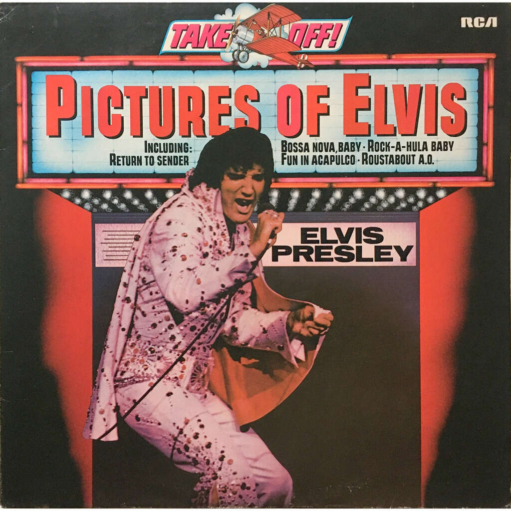 ELVIS PRESLEY - PICTURE OF ELVIS (GER. PRESSING 12 VINYL LP BLUE RCA LBL)