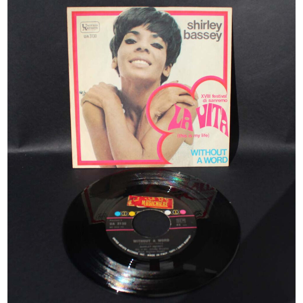 Shirley Bassey La Vita (This Is My Life) / Without A Word