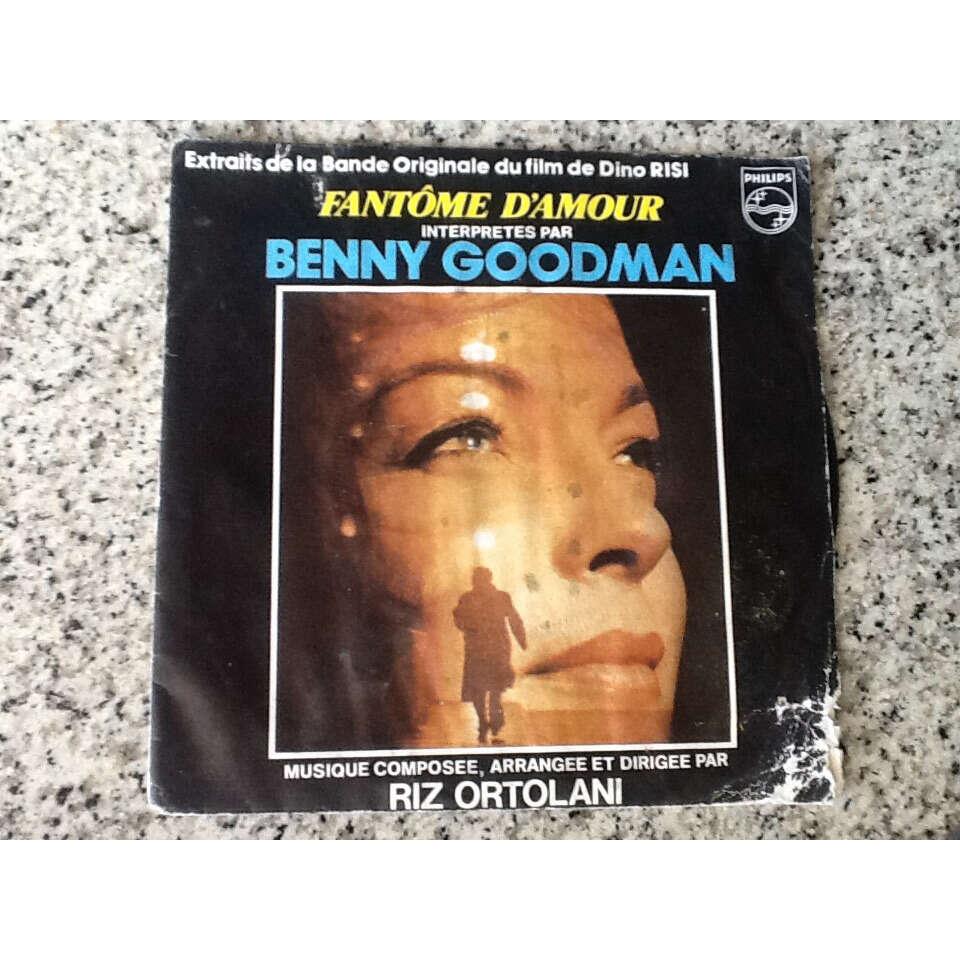 benny goodman Bande originale film Dino Risi - Fantôme d'amour / inoubliable amour - musique direction Riz Ortolan