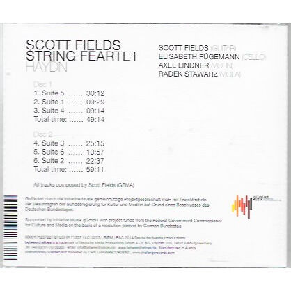 SCOTT FIELDS STRING FEARTET HAYDN