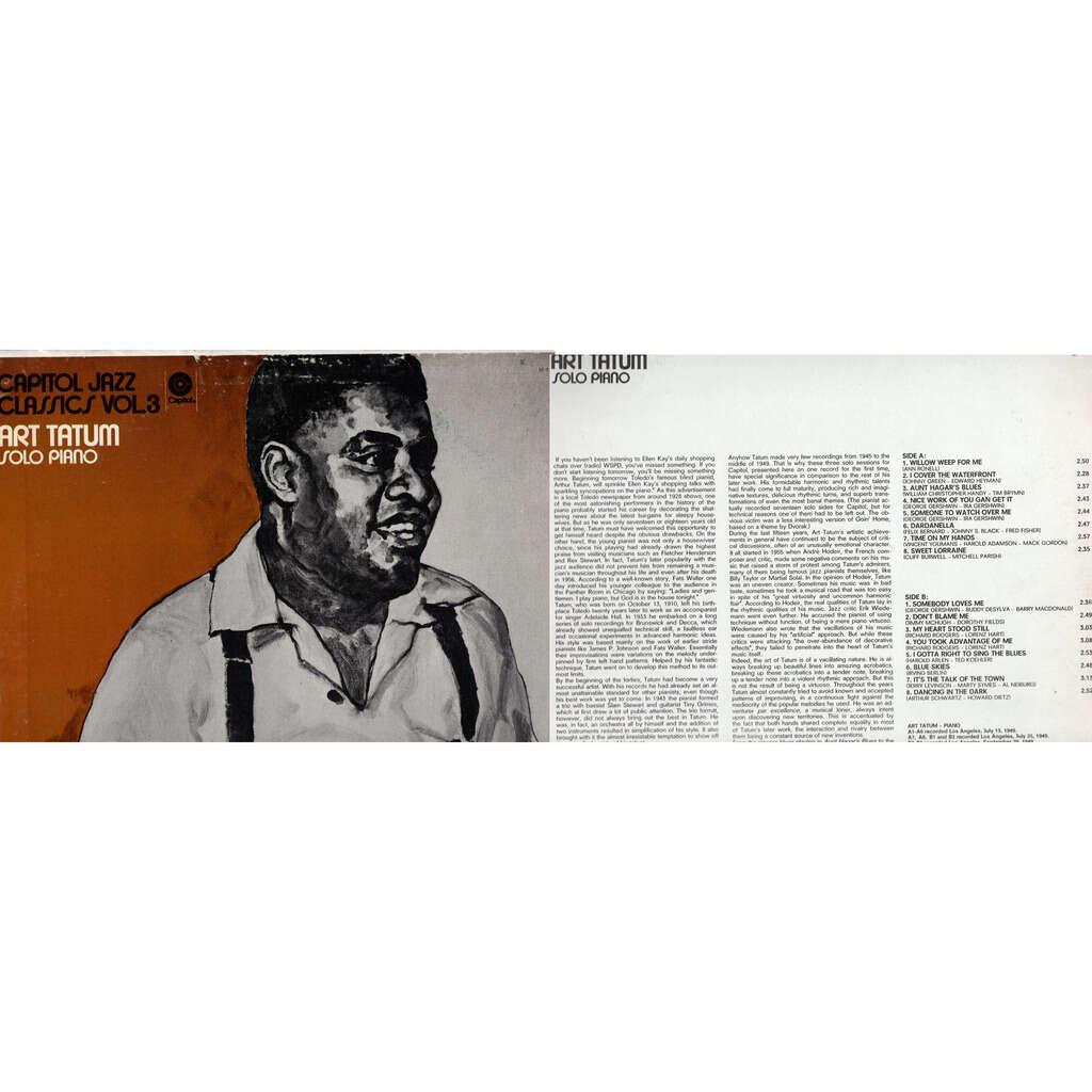 art tatum solo piano-capitol jazz vol 3