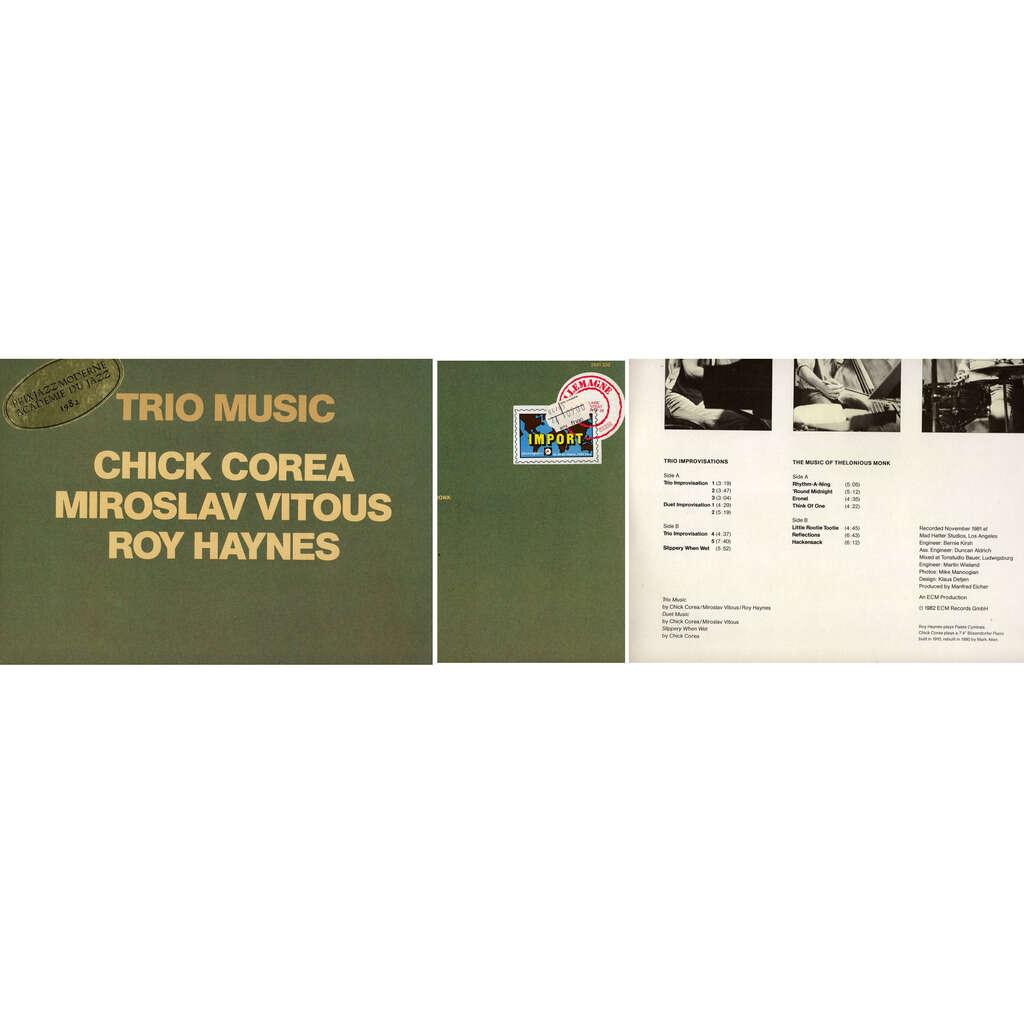 CHICK COREA-MIROSLAV VITOUS-ROY HAYNES trio music