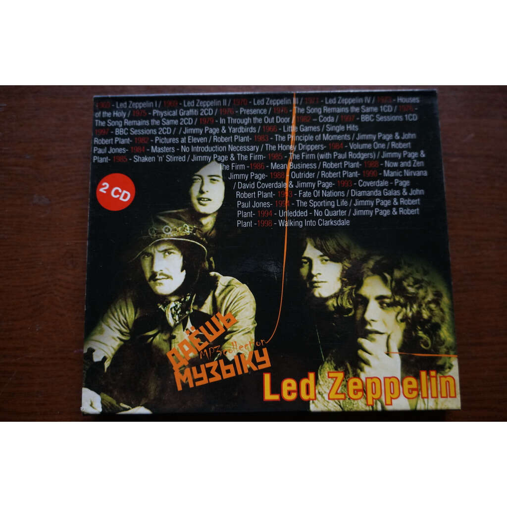 led zeppelin MP3 Collection (2 CD)