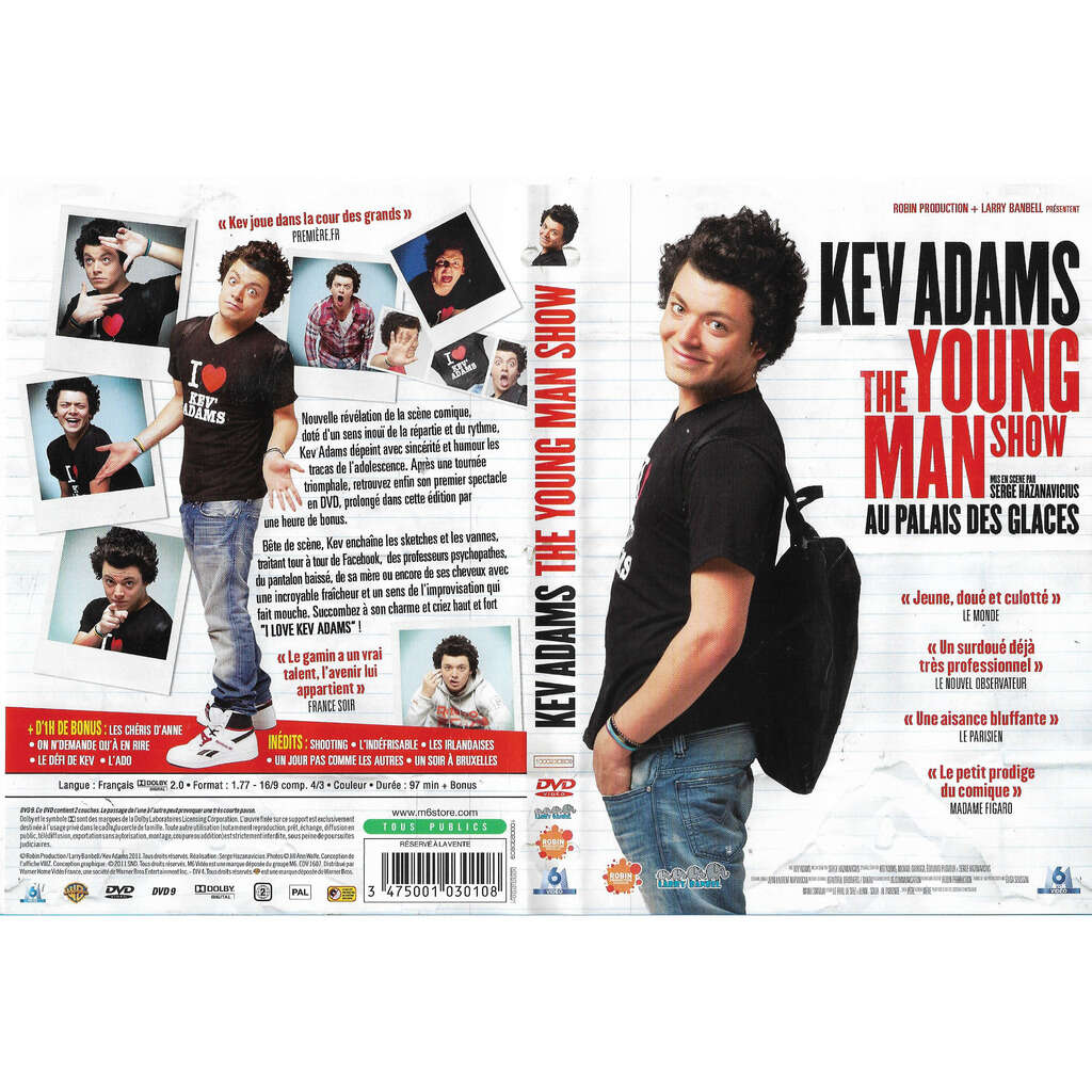 Kev Adams: the young man show