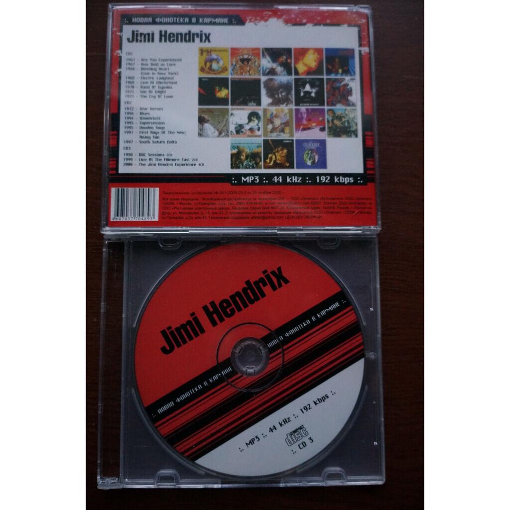 jimi hendrix MP3 collection (3 CD)