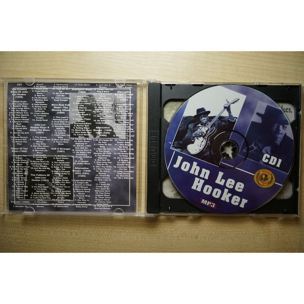 john lee hooker MP3 Collection (2 CD)