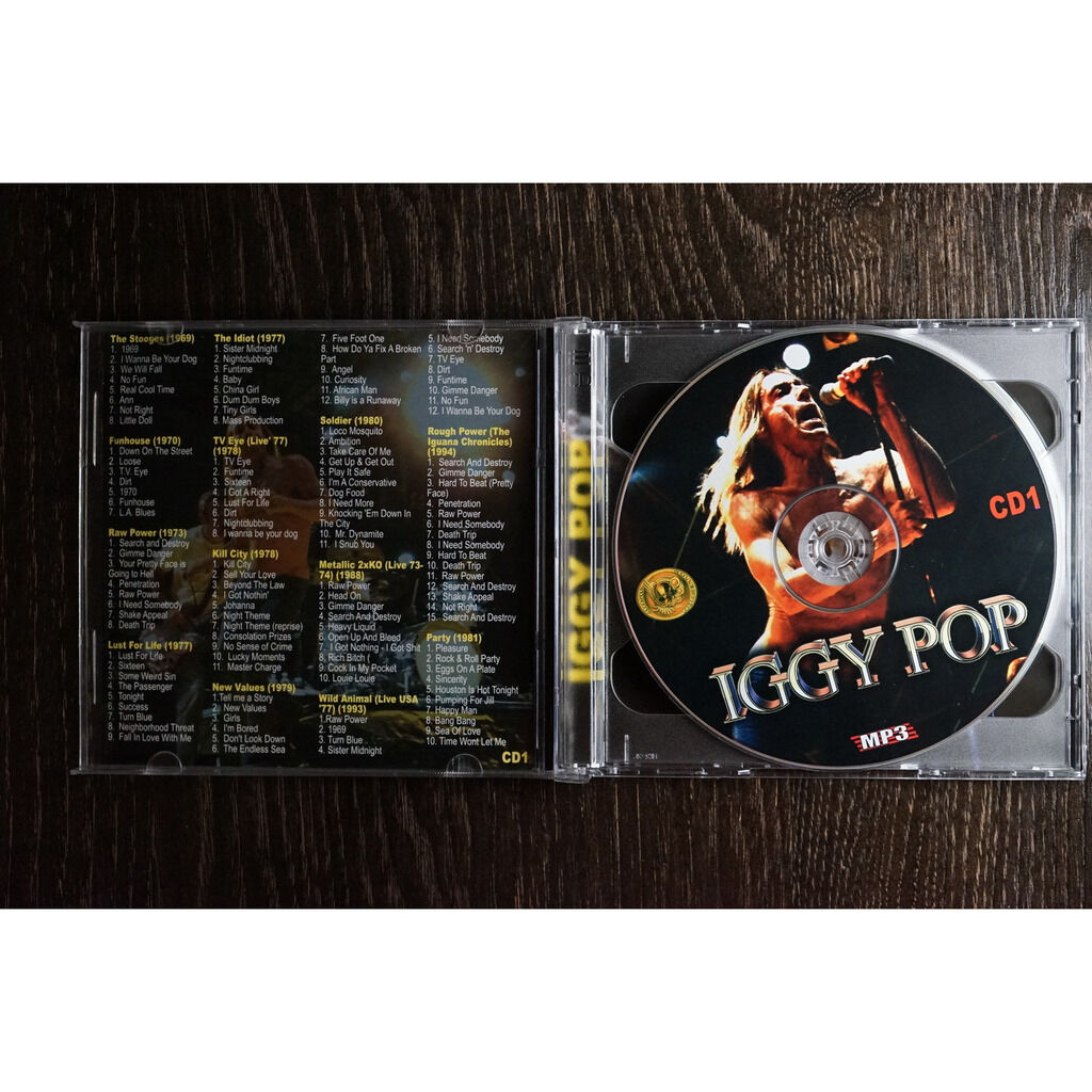 Iggy Pop MP3 Collection (2 CD)