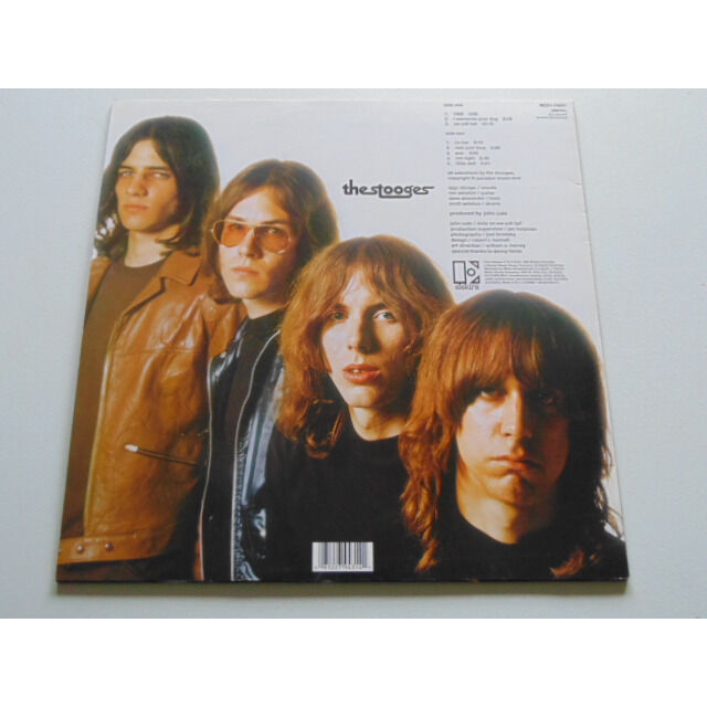 The Stooges The Stooges Vinyl, LP, Album, Limited Edition, Reissue, Clear and Black Swirl