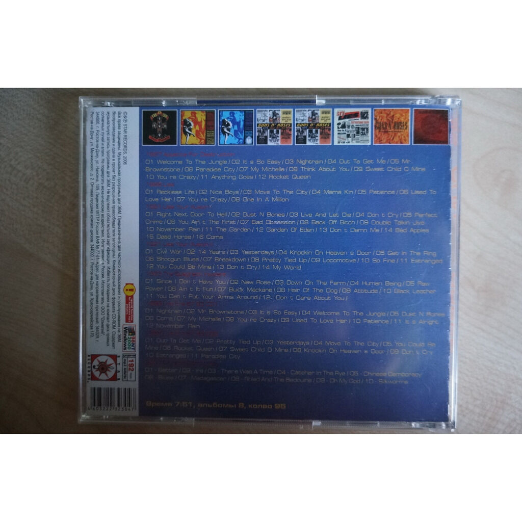 guns n' roses MP3 Collection