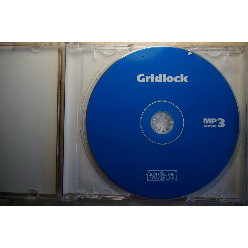 gridlock MP3 Home Collection (12 albums, 1995-2002)