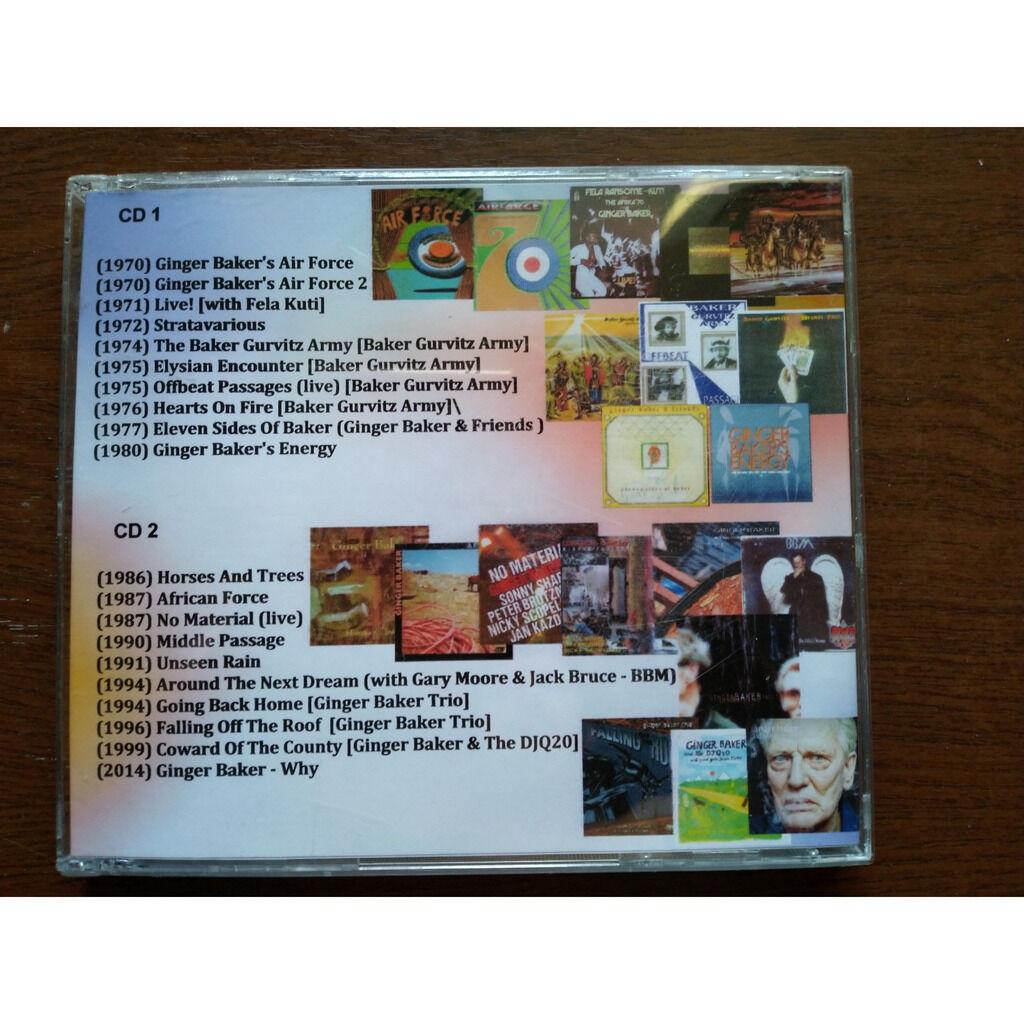 ginger baker MP3 Collection (2 CD)