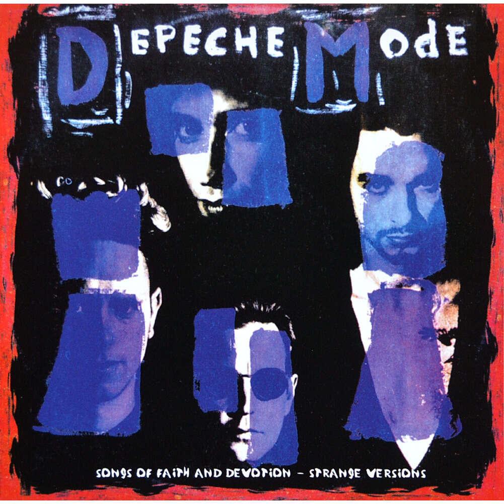 DEPECHE MODE Songs Of Faith And Devotion Strange Versions Remixes CD