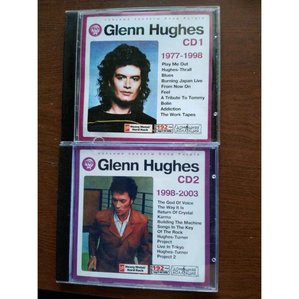 glenn hughes MP3 Home Collection (2 CD)