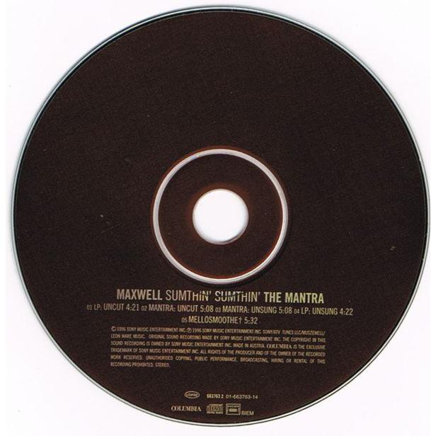 Maxwell Sumthin' Sumthin' The Mantra