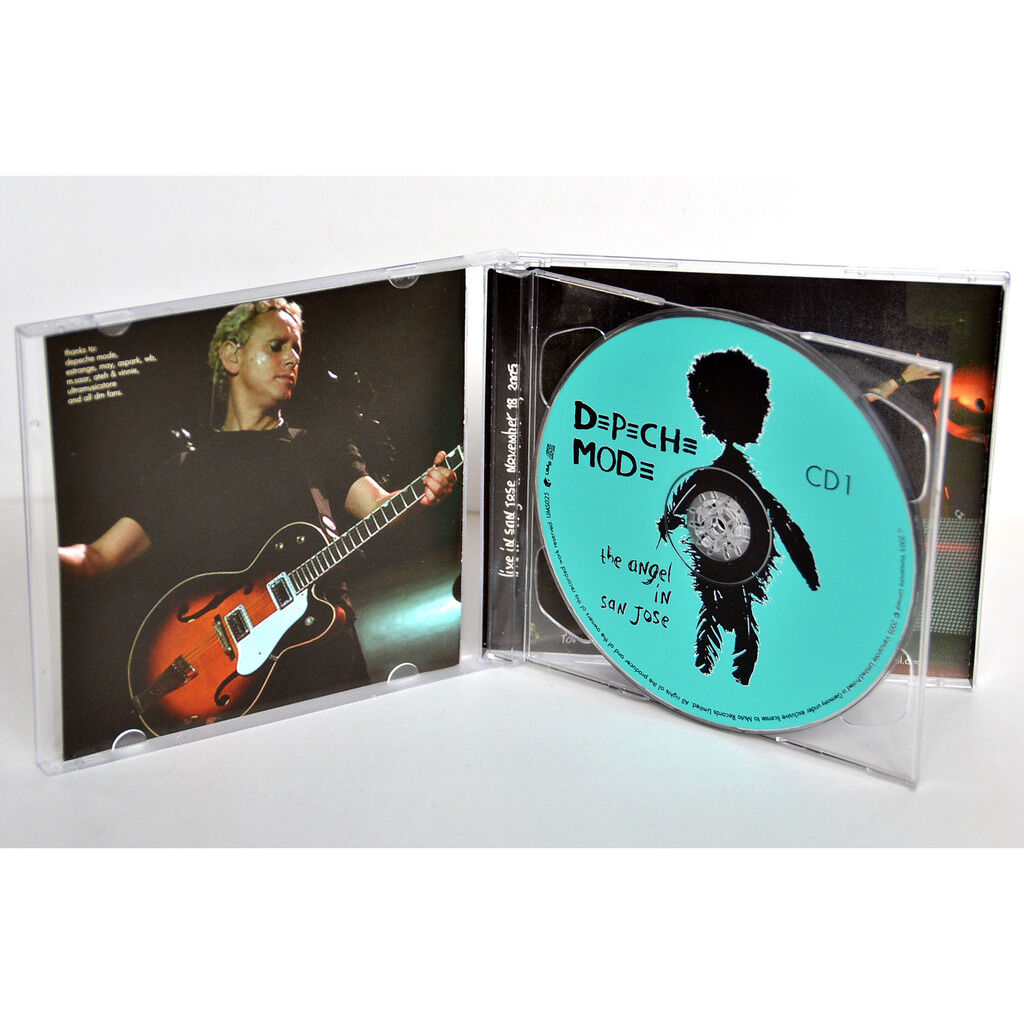 DEPECHE MODE The Angel In San Jose Live USA 2005 Touring The Angel Tour 2CD