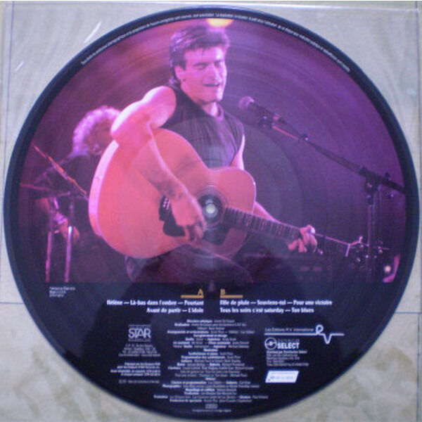 roch voisine HELENE - PICTURE DISC - CANADA