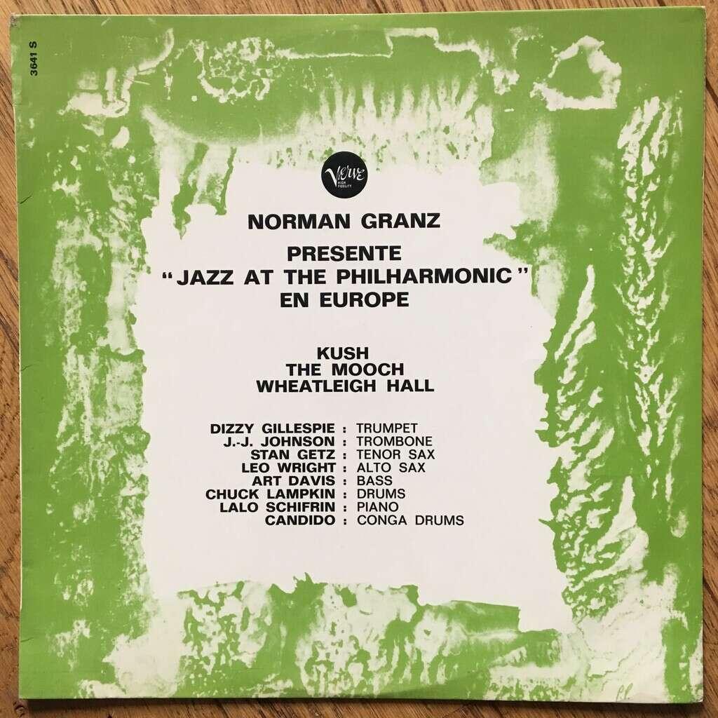 Norman Granz Norman Granz Présente Jazz At The Philharmonic Ex Europe Volume 4