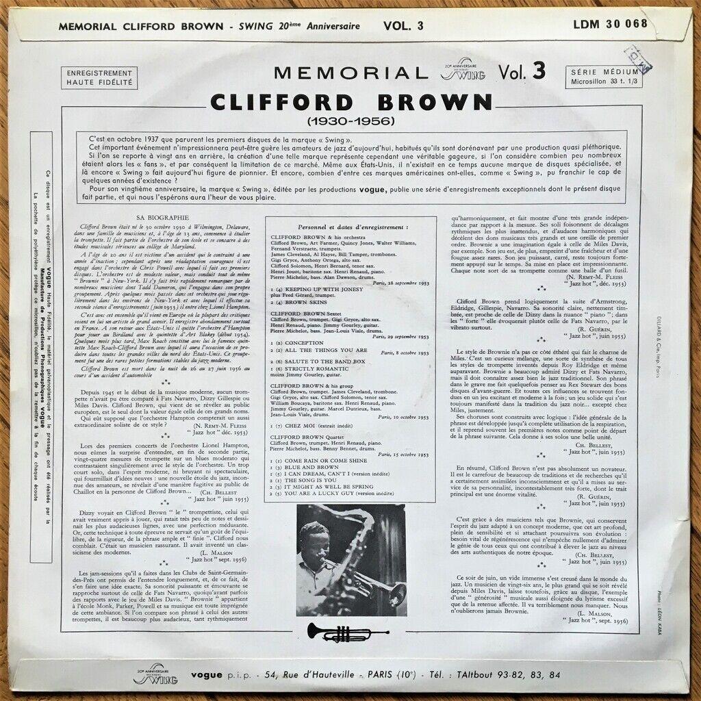 Clifford Brown Memorial Clifford Brown