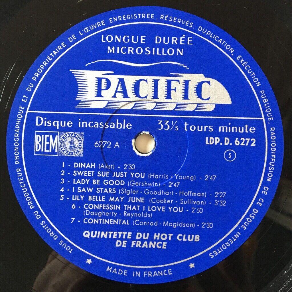 Django Reinhardt Les Premiers Enregistrements Du Quintette Du Hot Club Of France