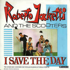 roberto jaketti and the scooters i save the day § kaktie