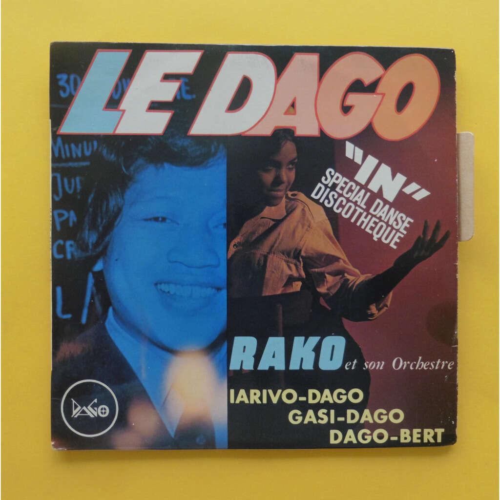 RAKO ET SON ORCHESTRE ( LANGUETTE ) LE DAGO + 3