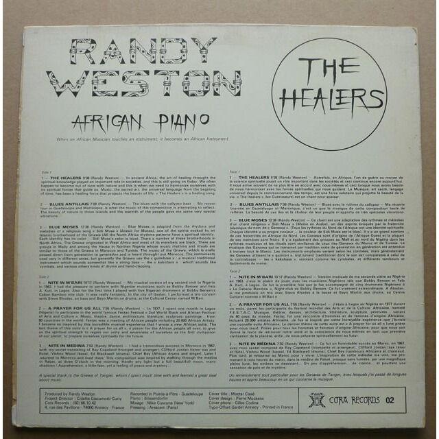 Randy Weston The Healers