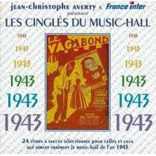 Jean-Christophe Averty Les Cingles du music hall .1943.CD