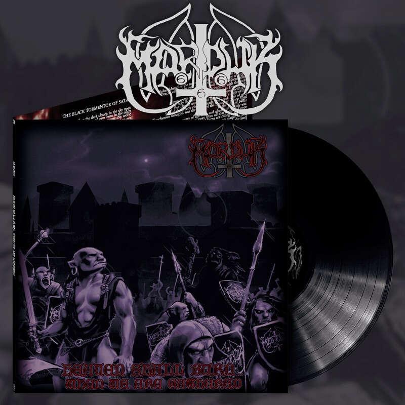 MARDUK Heaven Shall Burn...When We Are Gathered. Black Vinyl