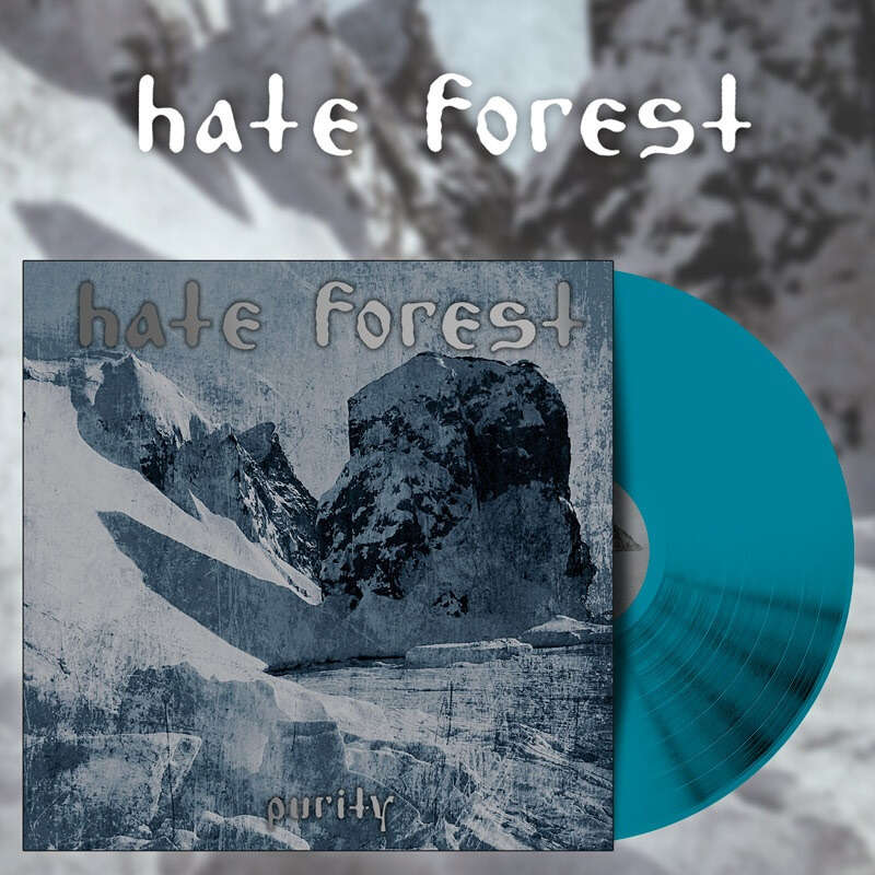 HATE FOREST Purity. Sea Blue Vinyl