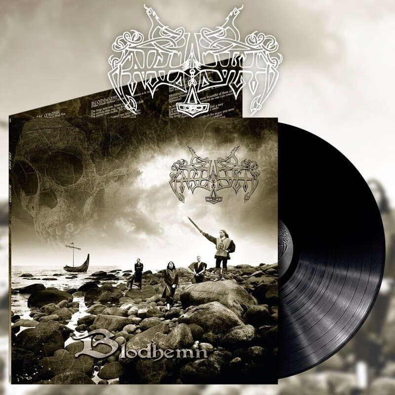ENSLAVED Blodhemn. Black Vinyl