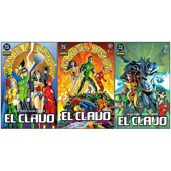 JLA JLA: El Clavo 1, 2 y 3