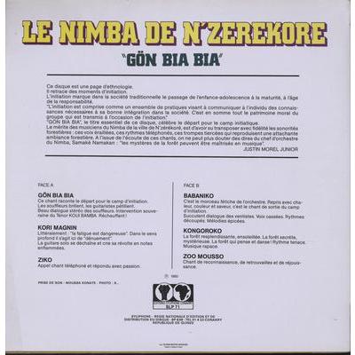 Le Nimba De N'Zerekore Gon Bia Bia