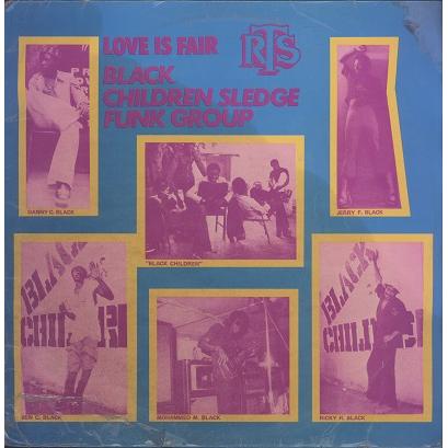 Black Children Sledge Funk Group Love is fair