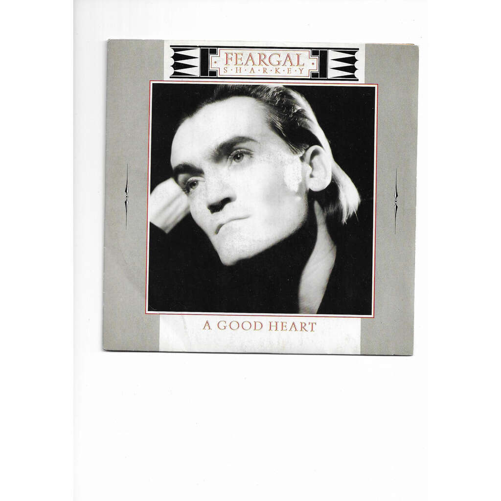 FEARGAL SHARKEY A GOOD HEART / ANGER IS HOLY