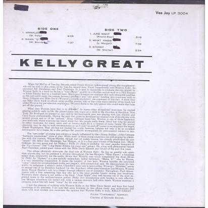 Wynton Kelly Kelly Great