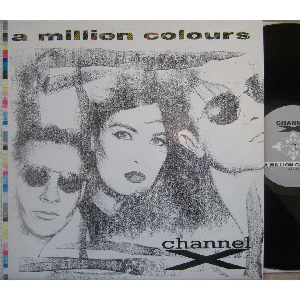 channel x a million colours