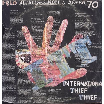 Fela Kuti & Afrika 70 International Thief Thief (I.T.T.)