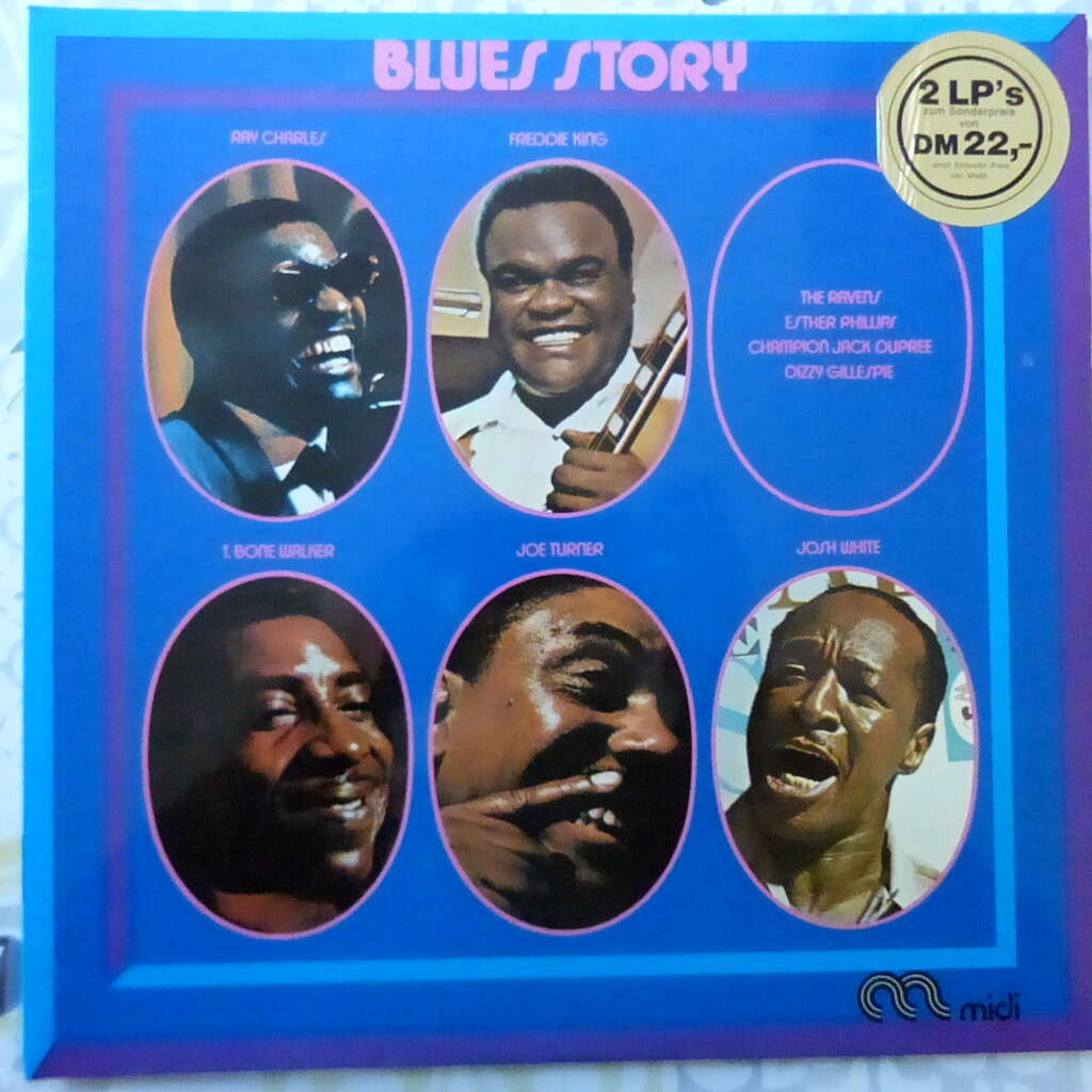 VARIOUS ARTISTS BLUES STORY